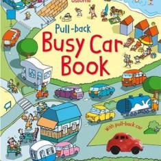 Pull-Back Busy Car - Usborne book (3+)