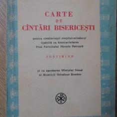 CARTE DE CANTARI BISERICESTI PENTRU CREDINCIOSII CRESTINI-ORTODOCSI - TIPARITA C