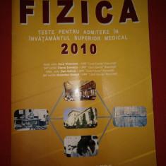 TESTE DE FIZICA -  2010 - Carol Davila