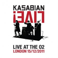 KASABIAN Velociraptor Live At The O2 ARENA (dvd)