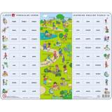 Cumpara ieftin Puzzle Invatam Limba Engleza Nr12, 54 Piese Larsen LREN12-GB B39016855