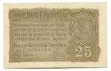 Ocupatia germana in Romania 25 bani 1917 VF+
