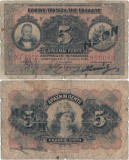 1918 (2 VII), 5 drachmai (P-64a) - Grecia!