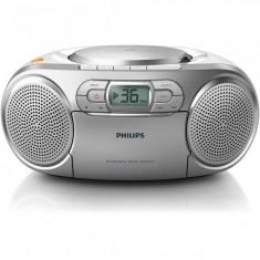 Philips Microsistem audio Philips AZ127/12, 2W, CD+caseta