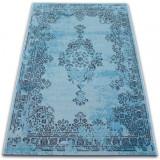 Covor Vintage Rozetă 22206/044 turcoaz, 200x290 cm