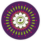 Abtibilduri roti, 2 buc / set, Nikidom Roller Mandala