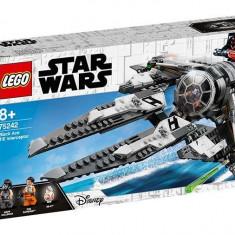 LEGO Star Wars - TIE Interceptor Asul negru 75242