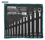 Set 12 chei inelare cu cot - 6-32mm (INDUSTRIAL) - MTO-THT1024121