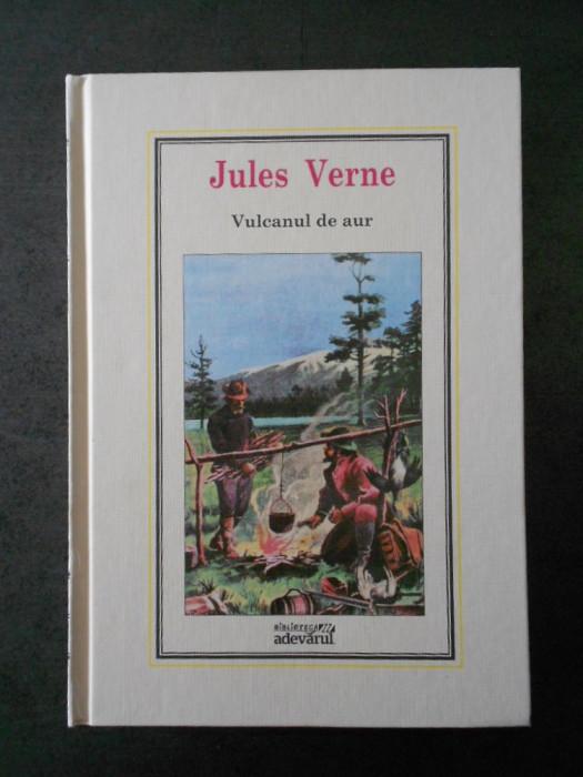 JULES VERNE - VULCANUL DE AUR (Adevarul, nr. 12)