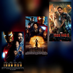 Poster Iron Man Marvel Afis A3