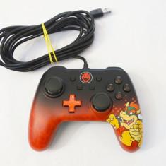 Controller cu fir Nintendo Switch PC PowerA character series Bowser