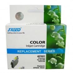 Cartus cerneala compatibil cu Epson T334,C13T0334010 foto