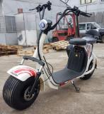 Scuter electric NITRO Eco Cruzer 1000W 60V cu 2 locuri + Accesorii