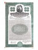Obligatiune $500 dolari Aur 1929 la purtator, cu cupoane neplatite, Generic