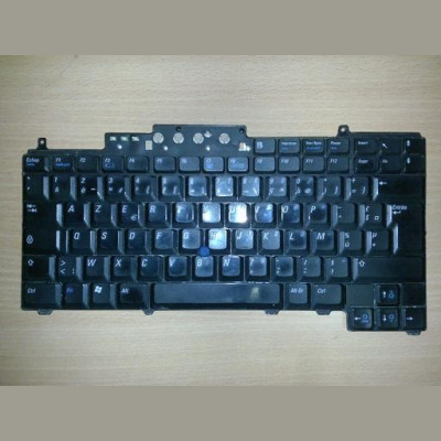 Tastatura laptop second hand Dell D620 D630 D631 D820 D830 Layout SWE/FIN foto