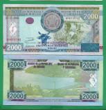 = BURUNDI - 2000 FRANCS – 2008 -  UNC   =