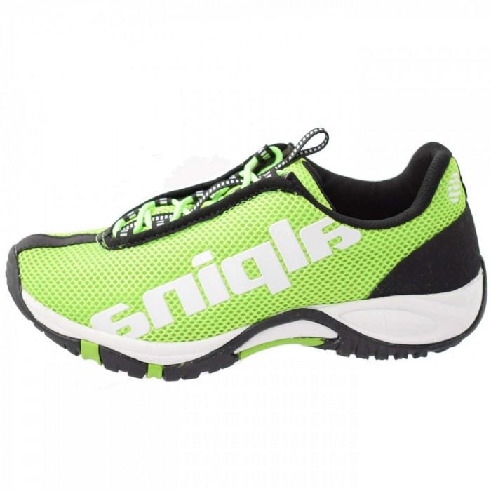 Pantofi tip adidasi de barbati, din textil, marca Alpina, 63354K-06-23, verde 41
