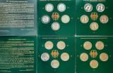 Colectie completa monede de argint - 10 DM, anul 2000, Germania - Proof, Europa