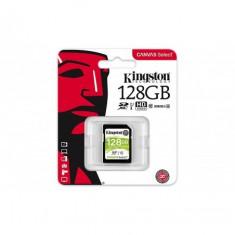 Secure digital card kingston 128gb sdxc clasa 10 uhs-i 80mb/s