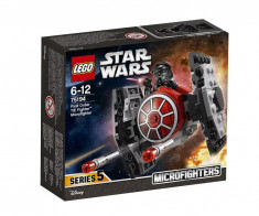 Set de constructie LEGO Star Wars TIE Fighter al Ordinului Intai Microfighter foto