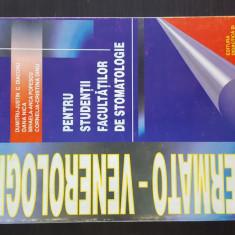 DERMATO-VENEROLOGIE PENTRU STUDENTII FACULTATILOR DE STOMATOLOGIE. 1999