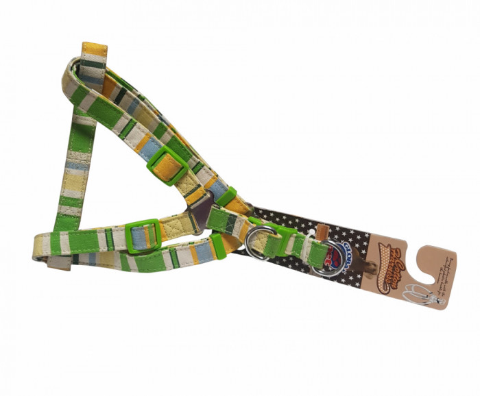 Ham textil imprimat multicolor S, Global Pet, 1.0 x 25 - 35cm