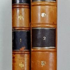 Domnia lui Bibescu de printul Gheorghe Bibescu Vol.I-II - BUCURESTI ,1893, 1894