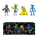 Cumpara ieftin Set 4 figurine Five Nights at Freddy`s FNAF Blacklight – Animatronic 5 cm