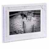Rama foto vintage, 24×31 cm, alb