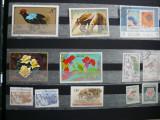 DIVERSE TARI - FAUNA , ANIMALE , PLANTE - LOT STAMPILAT
