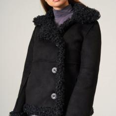Palton scurt cu fir eco