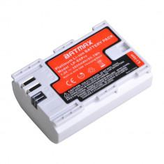 Acumulator Canon LP-E6 Pro de mare capacitate 2800mAh cu port micro USB integrat