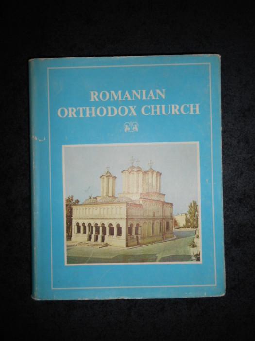 ANTONIE PLAMADEALA - ROMANIAN ORTHODOX CHURCH. MONOGRAFIE - ALBUM (1987)