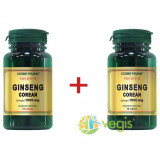Ginseng Corean 1000mg Premium 60cpr+30cpr Pachet 1+1