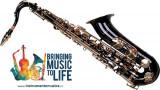 Tenor Saxofon NEGRU+AURIU curbat Karl Glaser Sax Saxophone Bb(Sib)