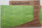 Portofel pentru tutun - Triangles Outlines Green | Paprcuts