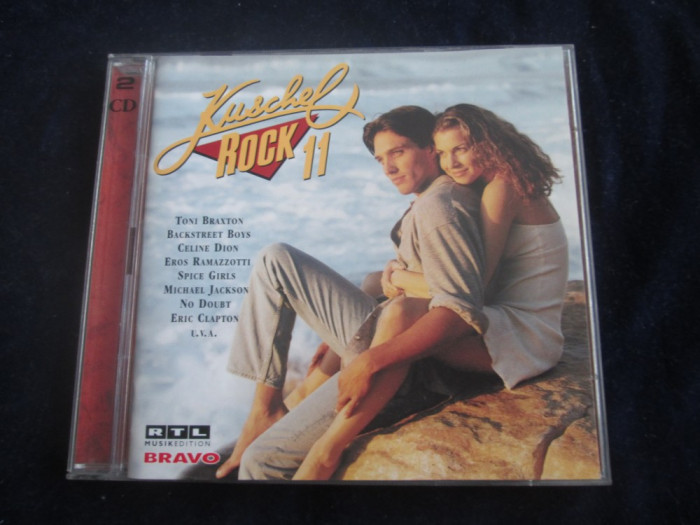 various - Kuschelrock 11 _ dublu cd _ Sony Music ( 1997, Germania )