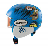 Cumpara ieftin Set casca si ochelari Alpina Carat Disney Donald Duck
