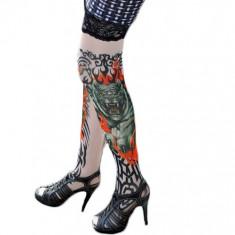 STK18 Ciorapi cu tatuaj