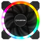Ventilator pentru carcasa Floston Halo Rainbow Dual RGB