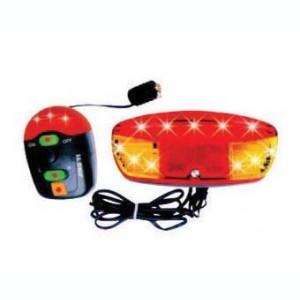 Alarma + Semnalizare JY-208B (11 Led-uri 8 Melodii)PB Cod:MXR50001.4