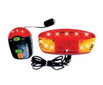 Alarma + Semnalizare JY-208B (11 Led-uri 8 Melodii)PB Cod:MXR50001.4 foto