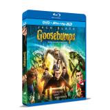 Goosebumps: Iti facem parul maciuca / Goosebumps - BLU-RAY 3D + DVD Mania Film
