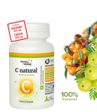 C Natural cu Catina si Amalaki (Vitamina C), 60cps masticabile, Dacia Plant