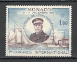Monaco.1966 Congres international de istoria oceanografiei  MM.585