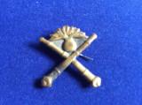 Insignă militară - Insignă România - Semne de armă - Semn Artilerie - anii '50