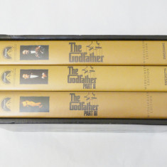 Casete video VHS inregistrate originale - The Godfather Collection