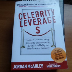 Celebrity leverage – Jordan McAuley