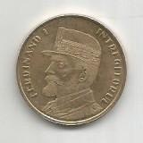 No(4) moneda-ROMANIA- 50 bani 2019- FERDINAND I iNTREGITORUL