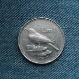 1h - 1 Lira 1986 Malta / an unic de batere, Europa